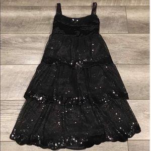Sequin Layered Dress